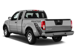 Nissan Frontier Black Frontier Distressed Diagonal Stripe