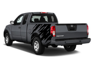 Nissan Frontier Black Shredder Graphic