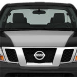 Nissan Frontier Hood Cowl - Gloss Silver