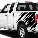 Nissan Frontier Shredder Graphic - Matte Black
