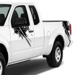Nissan Frontier Splatter Graphic - Black